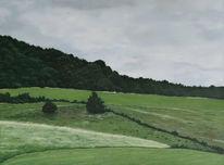 Malerei, Ölmalerei, Realismus, Landschaft