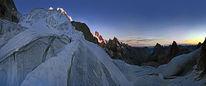 Sonnenaufgang, Bernina, Eis, Gletscher
