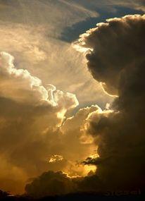 Gewitter, Wolken, Dramatisch, Unwetter