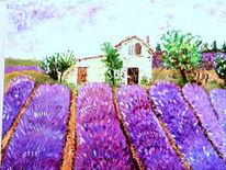 Malerei, Lavendel