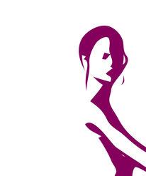 Ballett, Pink, Mund, Modern