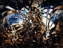 Digital, Abstrakt, Col, Digitale kunst