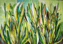 Landschaft, Malerei, Grafik, Aquarellmalerei