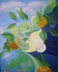Natur, Temperamalerei, Philosophie, Symbol