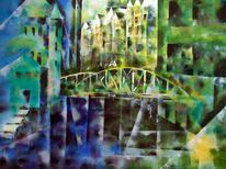 Arcxhitektur, Expressionismus, Historie, Stadt hamburg