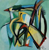 Birotic art, Abstrakter expressionismus, Ölmalerei, Malerei