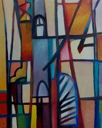 Birotic, Licht, Ölmalerei, Abstrakter expressionismus
