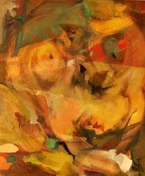 Expressionismus, Glaube, Feucht, Malerei