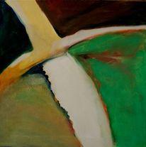 Ölmalerei, Birotic art, Wolkig, Feucht