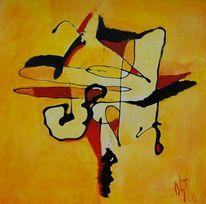 Sonne, Abstrakter expressionismus, Glaube, Ölmalerei