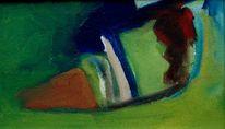 Abstrakter expressionismus, Disponibil, Feucht, Gras