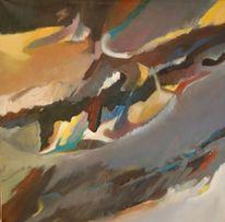 Feucht, Ölmalerei, Birotic art, Licht