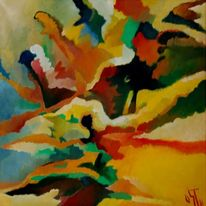 Birotic art, Feucht, Abstrakter expressionismus, Schwach