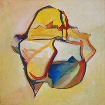 Ölmalerei, Abstrakter expressionismus, Romantik, Malerei