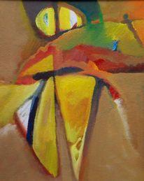 Expressionismus, Feucht, Ölmalerei, Farben
