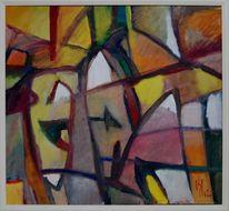 Ölmalerei, Sonne, Brief, Expressionismus