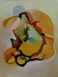 Abstrakter expressionismus, Birotic art, Ölmalerei, Malerei