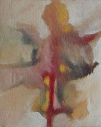 Rede, Ölmalerei, Birotic art, Gras
