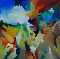 Birotic art, Feucht, Gras, Abstrakter expressionismus