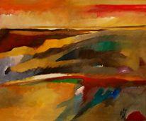 Abstrakter expresionismus, Glaube, Lounge, Ölmalerei