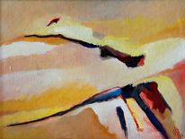 Ölmalerei, Sonne, Birotic art, Feucht