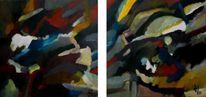 Birotic art, Ölmalerei, Abstraktes impressionismus, Malerei