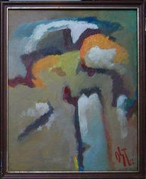 Feucht, Ölmalerei, Farben, Brief