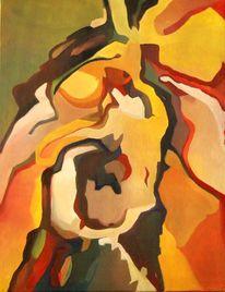 Ölmalerei, Expressionismus, Abstrakter expressionismus, Malerei