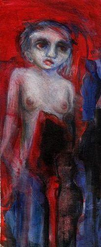 Surreal, Rot, Malerei