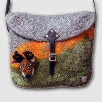 Handtasche, Filzen, Mode, Wolle