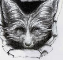 Skizze, Zeichnung, Buntstiftzeichnung, Realismus
