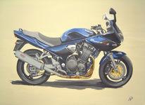Motorsport, Biker, Fahren, Suzuki