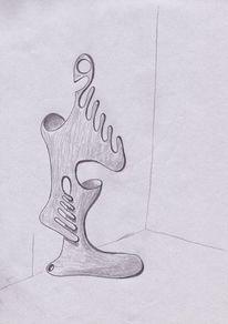Gefäß, Figur, Zeichnung, Zeichnungen