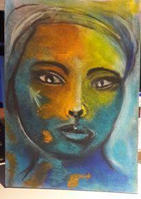 Abstrakt, Frau, Portrait, Zeichnungen