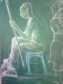 Tafel, Kreide, Malerei