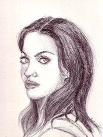 Schön, Giingt, Frau, Zeichnungen
