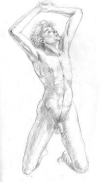 Zeichnungen, Gott, Mann