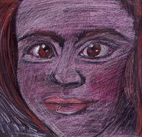 Erfunden, Zeichnungen, Gesicht