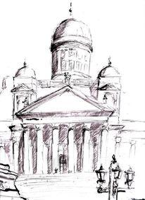 Zeichnungen, Gebäude