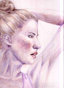 Zeichnungen, Portrait, Nase