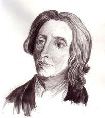 Philosoph, Englische, Malerei, Figural