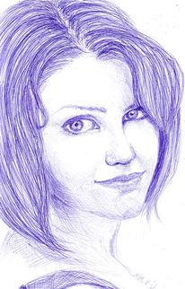 Ergeizig, Frau, Bekommen, Zeichnungen