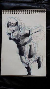 Tanz, Bewegung, Prizision, Zeichnungen