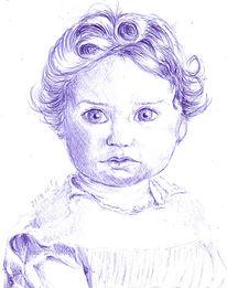 Buch, Zeichnungen, Portrait