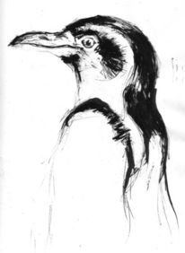 Malerei, Pinguin