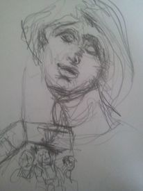 Zeichnungen, Hand, Linke