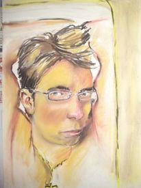 Zeichnungen, Portrait, Haare
