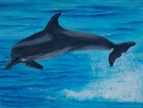 Malerei, Delfin