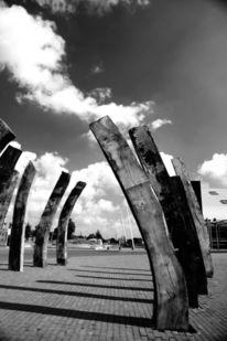 Himmel, Schwarz weiß, Holland, Fotografie