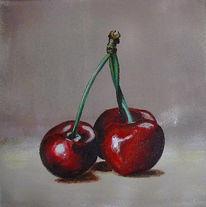 Rot, Obst, Stillleben, Kirsche